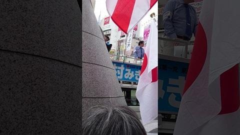 平成29年6月25日 日本第一党岡村幹雄候補 東京都議会選挙演説(八王子駅北口)
