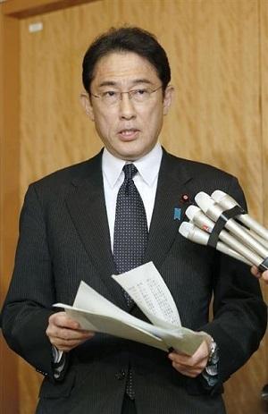 岸田外務大臣は5日夜、外務省で記者団に対し、「登録を確実なものにするため、ぎりぎりの調整を行ってきた。登録が決定したことは、誠に喜ばしいことだ」と述べました。