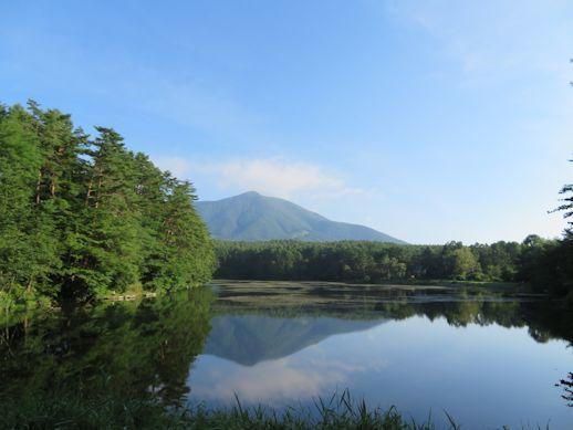 8月27日飯綱湖
