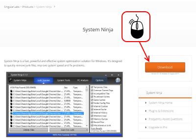System Ninja ダウンロード