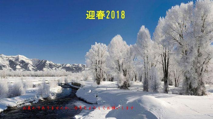 2018迎春
