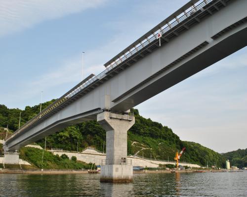 九島大橋パス