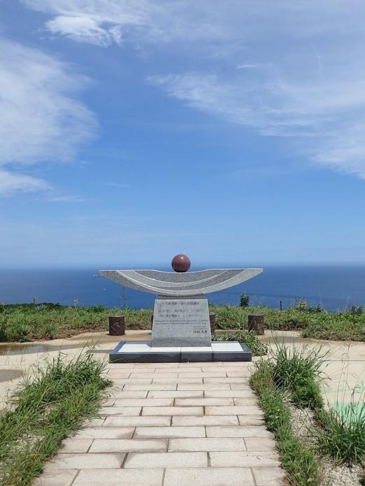 宗像大島 日本海海戦戦死者慰霊碑
