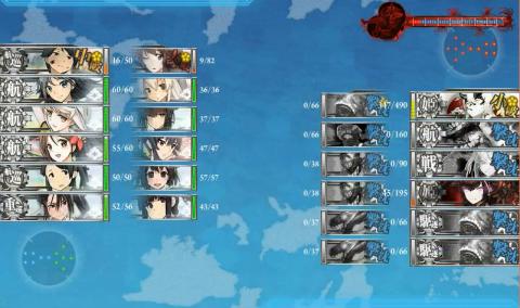 E-3戦力昼終了