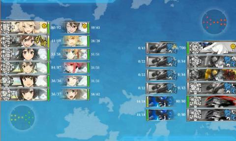 E-6輸送昼戦開始