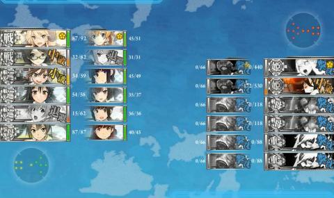 E-6戦力昼終了