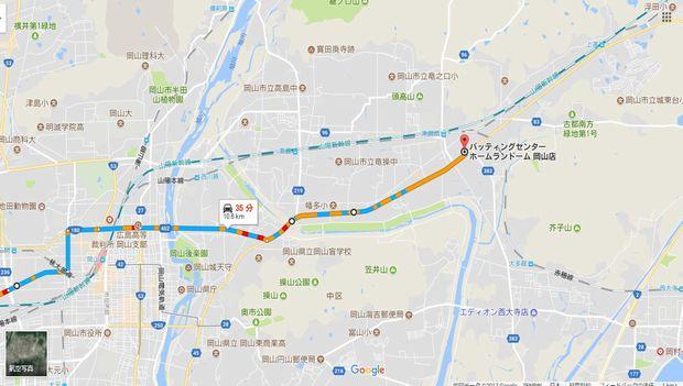 MAP(ホームランドーム)
