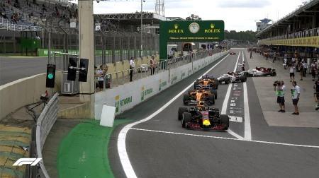 2018年F1第20戦ブラジルGP、FP1結果
