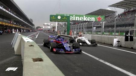 2018年F1第19戦メキシコGP、FP3結果