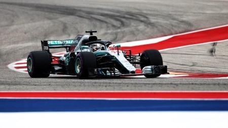 2018年F1第18戦 アメリカGP、PPはハミルトン