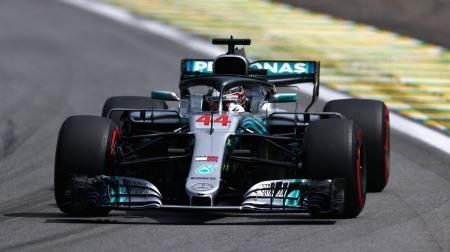 2018年F1第20戦 ブラジルGP、PPはハミルトン