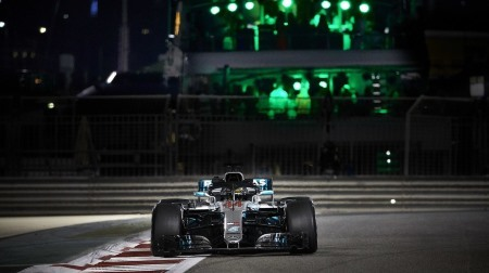 2018年F1第21戦 アブダビGP、PPはハミルトン