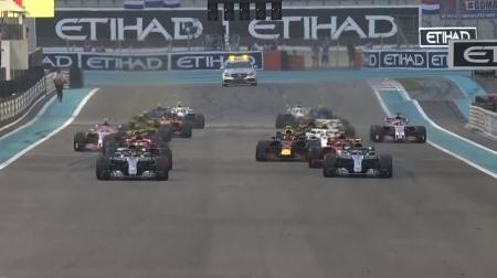 2018年F1第21戦のスタート
