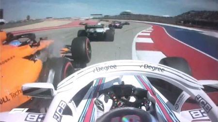楽観的なライバルとの接触でリタイアしたアロンソ@F1アメリカGP