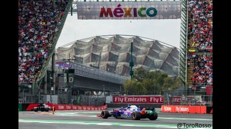 トロロッソ、ザウバーに逆転を許す@F1メキシコGP