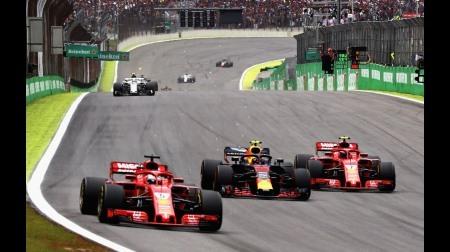 フェラーリ、目立たず...@F1ブラジルGP