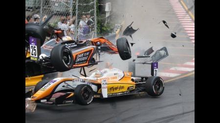 第65回マカオF3決勝レースの事故その後