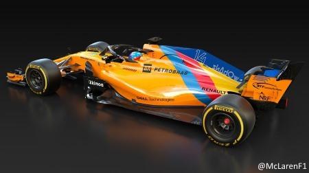 アロンソ、F1アブダビGPは特別カラーリング