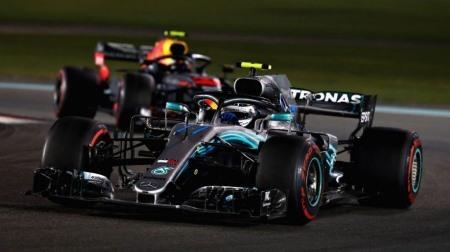 ボッタス、2018年は優勝できず@F1アブダビGP