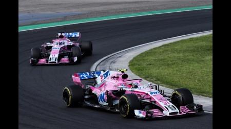レーシングポイントF1はせ正式名称ではない
