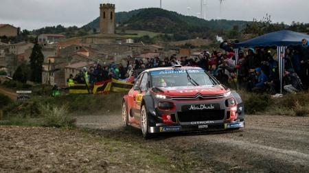 2018 WRC 第12戦 スペイン 総合結果