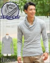 タートルネック メンズ服 メンズスタイル2