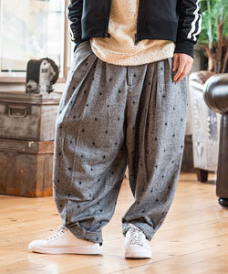 ワイドパンツ 2017秋冬 流行 メンズファッション2