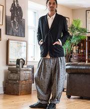 2017 秋冬メンズファッション ワイドパンツ コーディネート6
