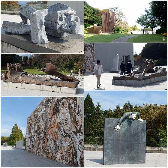 161023ヴァンジ彫刻庭園-2