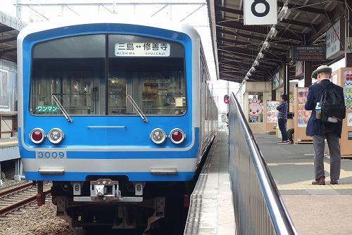 161023三島駅修善寺行き