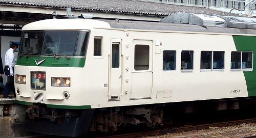 161023三島駅踊り子号
