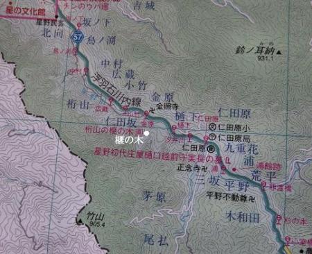 地図 榧の木 001