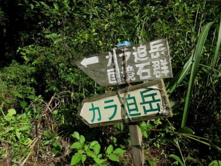 カラ迫岳に登る 043