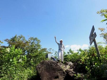 カラ迫岳に登る 133
