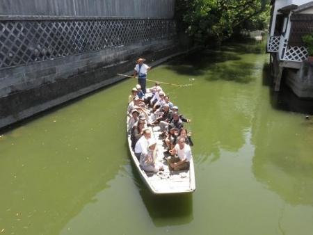 柳川落語川下り御花 072