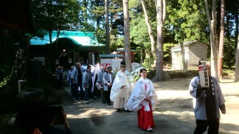 仮殿遷座祭4