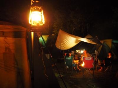 N_studiomimosa八ヶ岳キャンプ夜