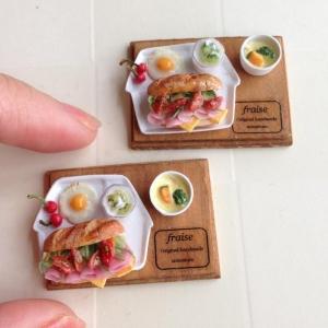 ミニトマトとハムのサンドイッチ3