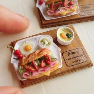 ミニトマトとハムのサンドイッチ4