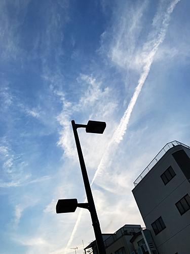 170521 ひこうき雲