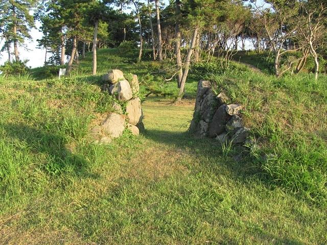 丸岡藩砲台2010.09.04D