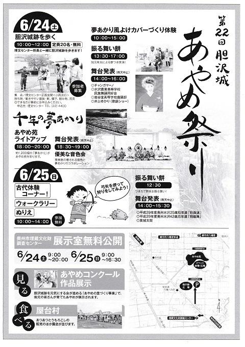 胆沢城あやめ祭り2017B