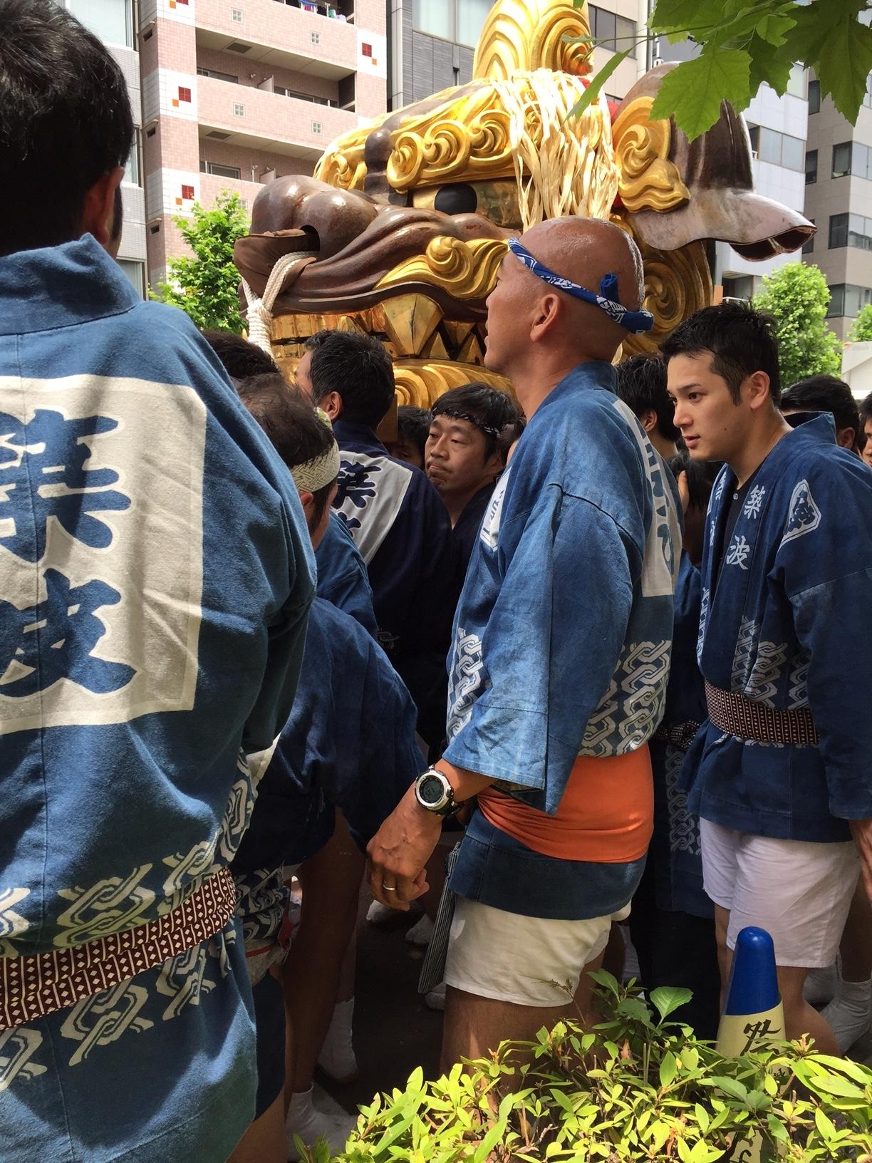 170611築地獅子祭り001