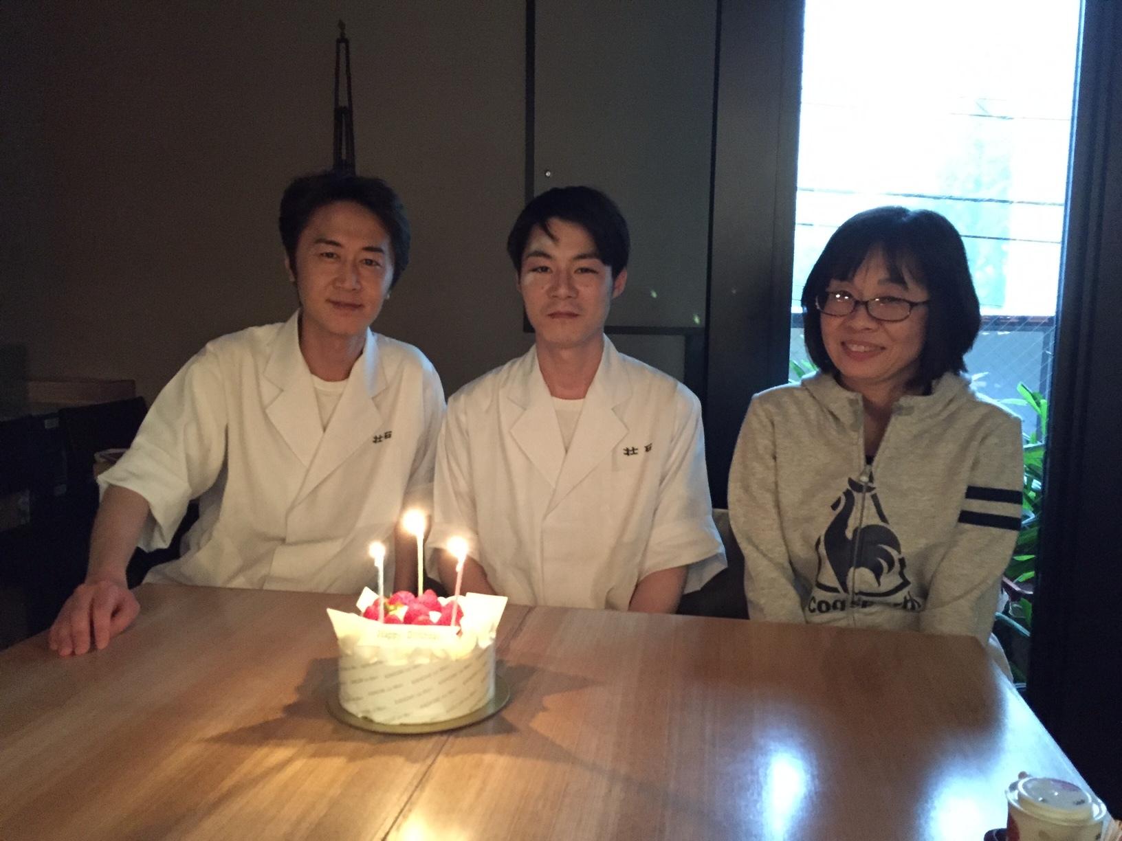 2017誕生日:店長、小熊、松下