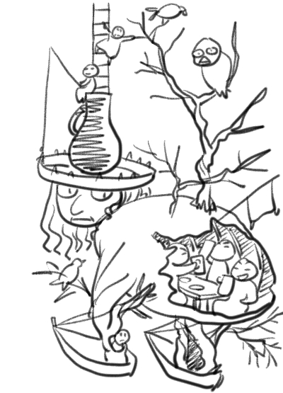 樹木ニンゲン