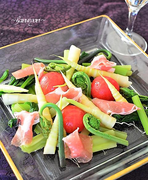 山菜サラダ41新