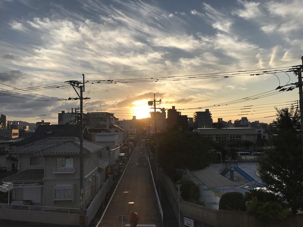 光の道20170903