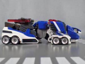 トミカ ハイパーレスキュー ドライブヘッド01 MKII サイクロンインターセプターを比較して遊ぼう (8)