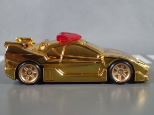 トミカ ハイパーレスキュー ドライブヘッド サイクロンバイバー ゴールドメッキバージョン キャンペーン (7)