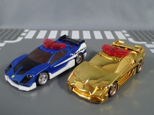 トミカ ハイパーレスキュー ドライブヘッド サイクロンバイバー ゴールドメッキバージョン キャンペーン (10)
